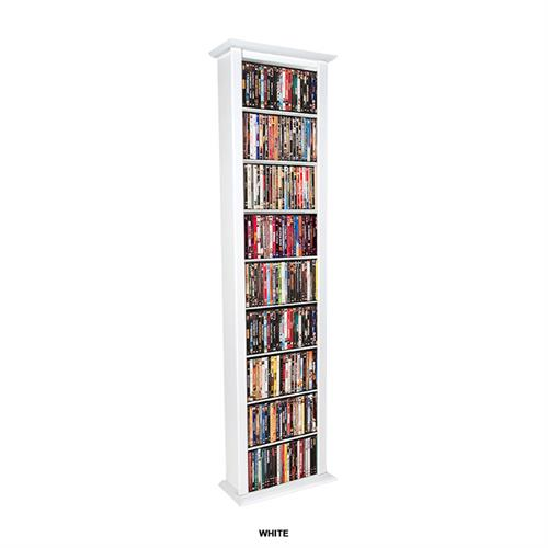View a large image of the Venture Horizon Large Single Media Wall Tower White 2411-11WH here.