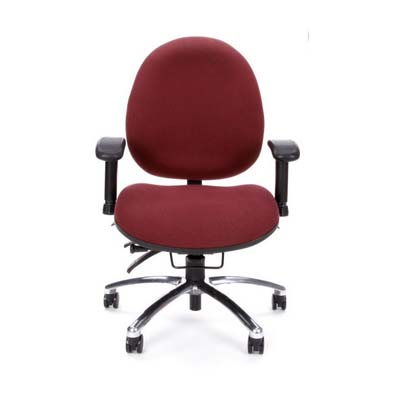 View a large image of the OFM Hi-Back 24-Hour Big and Tall Computer Task Chair Burgundy 247-201 here.
