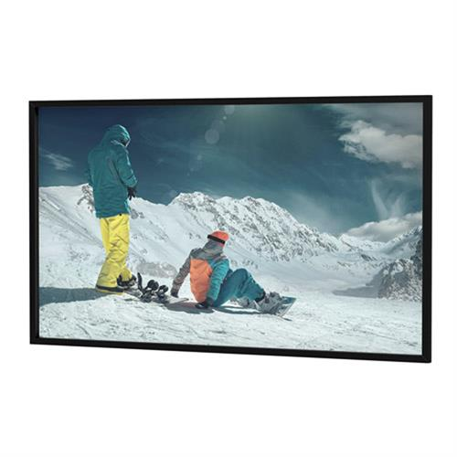 View a large image of the Da-Lite 24789V Da-Snap Fixed Frame (Pro Trim, HD Pro 1.3, 16:9, 133 Inch).