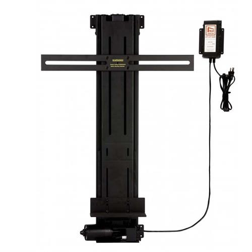 View a large image of the TV Lift Cabinet Lifts 44 inch Tall Linear Actuator TV Lift Black 4400LA here.