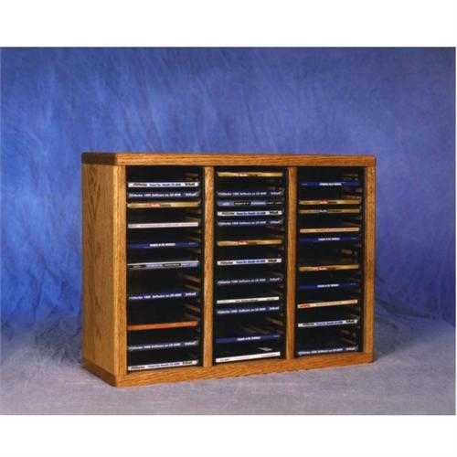 View a large image of the Wood Shed Solid Oak CD Rack TWS-309-1 here.