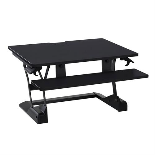 View a large image of the Ergotron Sit-Stand Desk Converter (WorkFit-TS, Compact) 33-447-921.
