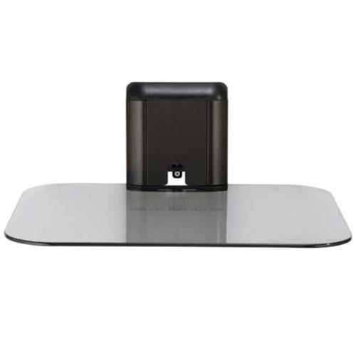 View a large image of the Sanus Audio Video Component Wall Shelf (Black Glass) VMA401B1 here.