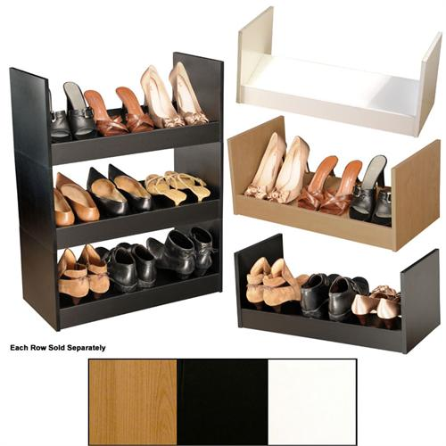 View a large image of the Venture Horizon Stackable Shoe Racks Various Finishes 4215 here.