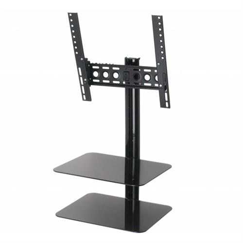 View a large image of the AVF Eco-Mount Tilt and Turn 47 in. TV Mount with Component Shelves ESL422B-T here.
