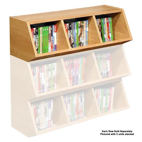 View a large image of the Venture Horizon Multi-Purpose Bins Oak 4860-33OA here.