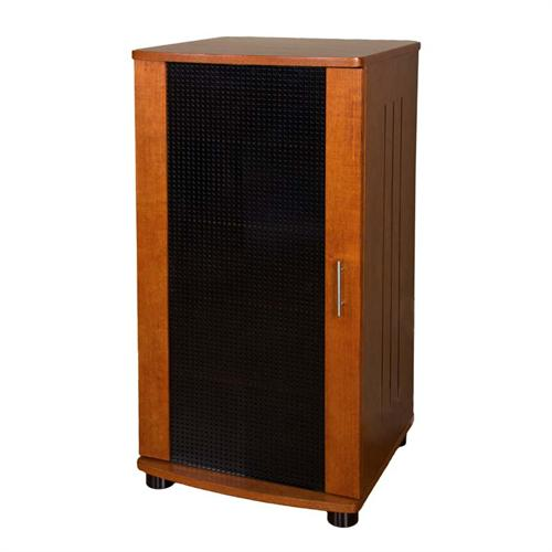 View a large image of the Plateau LSX Series 5 Shelf Audio Component Stand Walnut LSX-A 52 W here.