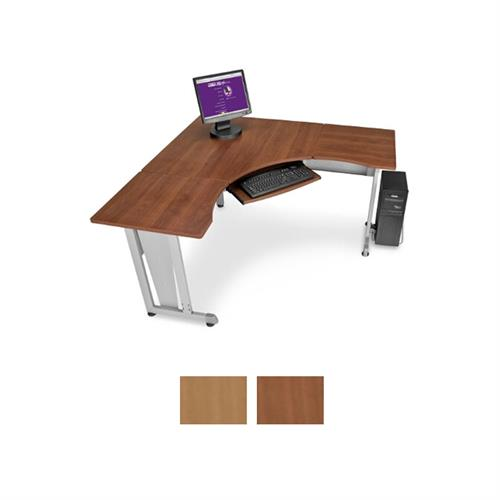 View a larger image of the OFM RiZe Panel System 5x5 Foot Workstation (Various Finishes) OFM-55196.