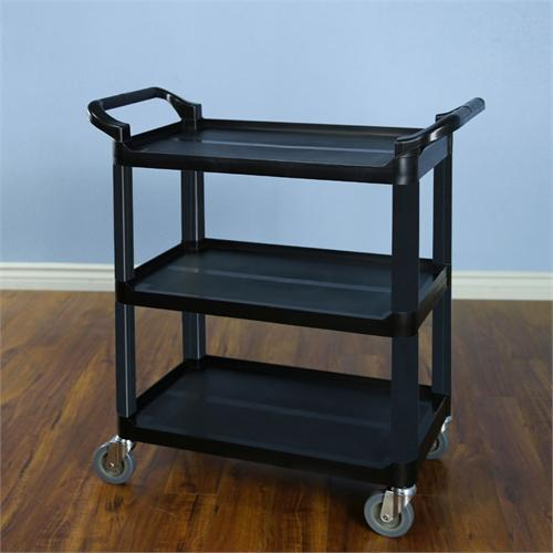 View a large image of the VTI Multi Function Utility Cart Black 58000 here.