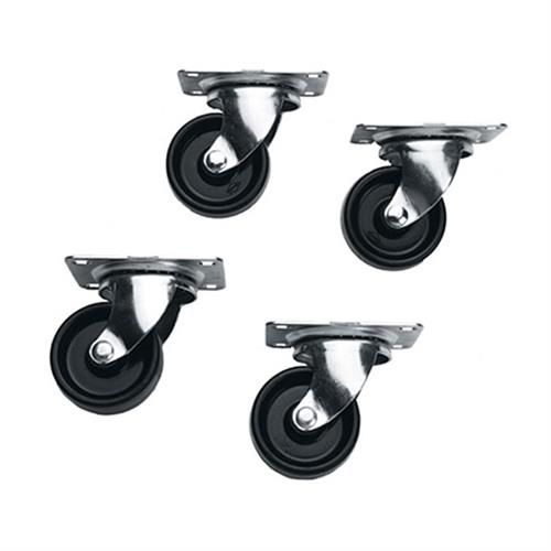 View a large image of the Middle Atlantic Slim 5 Series Casters 4 Pack 5W here.