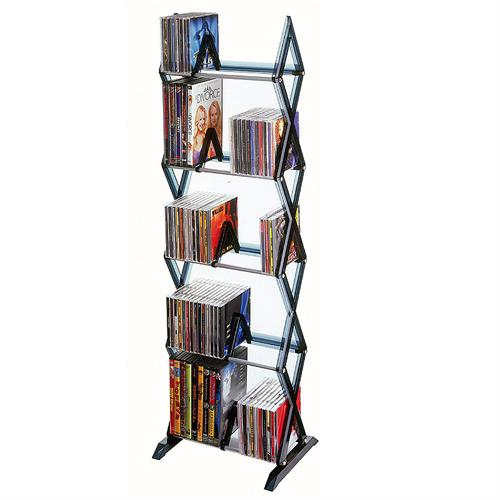 View a large image of the Atlantic Mitsu Series Expandable 5 Tier Multimedia Rack 64835195 here.