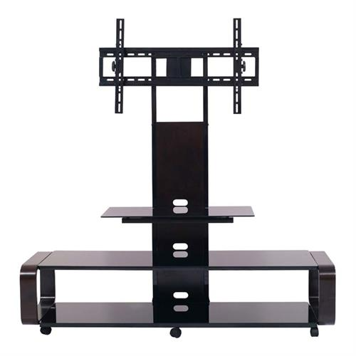 View a large image of the TransDeco 3 in 1 TV Stand with Mounting System for 35 to 80 inch Screens Espresso TD655ES here.
