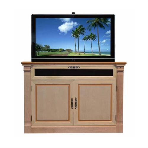 View a large image of the Touchstone Adonzo TV Lift Cabinet for 60 inch Screens Unfinished Birch 70152 here.