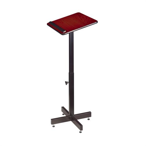 View a large image of the Oklahoma Sound Portable Presentation Lectern Stand Mahogany 70-MY here.