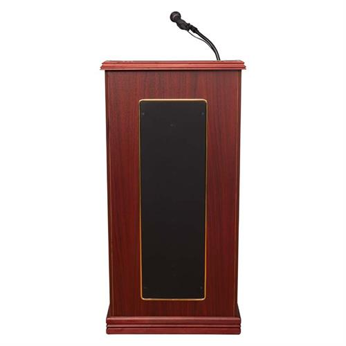 View a large image of the Oklahoma Sound Prestige Lectern with Sound (Mahogany) 711-MY here.