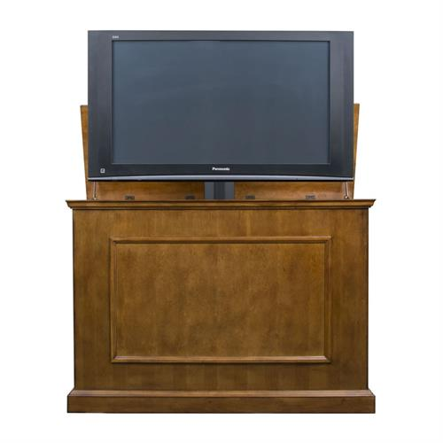 View a larger image of the Touchstone Elevate TV Lift Cabinet (32-50 inch TV, Oak) 72009 here.