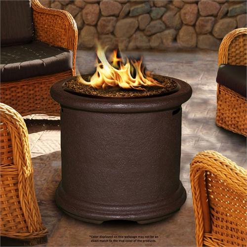 View a larger image of the Fire Pit - Brown Island Chat Height 7210-BR-PG11.