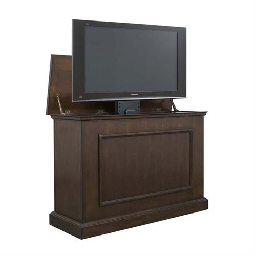 View a larger image of the Touchstone Mini Elevate TV Lift Cabinet (45 inch TV, Espresso) 75008 here.