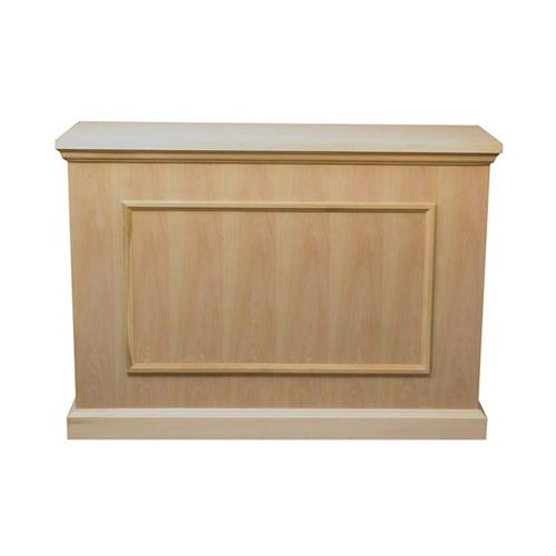 View a larger image of the Touchstone Mini Elevate TV Lift Cabinet (45 inch TV, Unfinished) 75012 here.