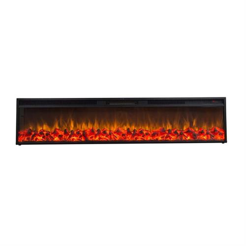 View a large image of the Touchstone Emblazon 72 in. Wall Mounted Electric Fireplace (No Heat) 80103 here.