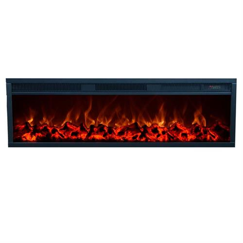 View a large image of the Touchstone Emblazon 50 in. Wall Mounted Electric Fireplace (No Heat) 80101 here.
