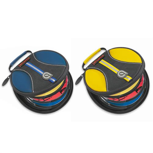 View a large image of the Atlantic Halogen Disc Wallet for CDs or DVDs Blue or Yellow 8706 here.