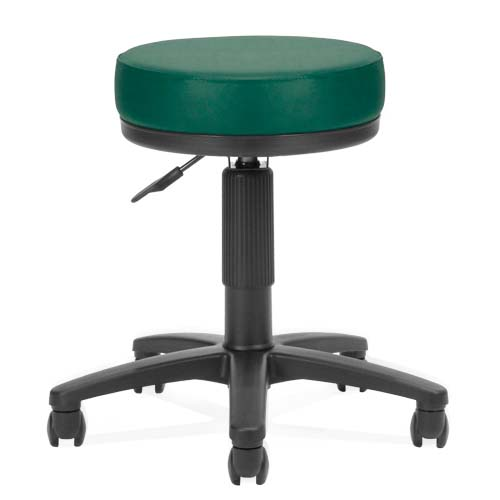 View a large image of the OFM UtiliStool Vinyl Anti-Bacterial Computer Stool Teal 902-VAM-602 here.