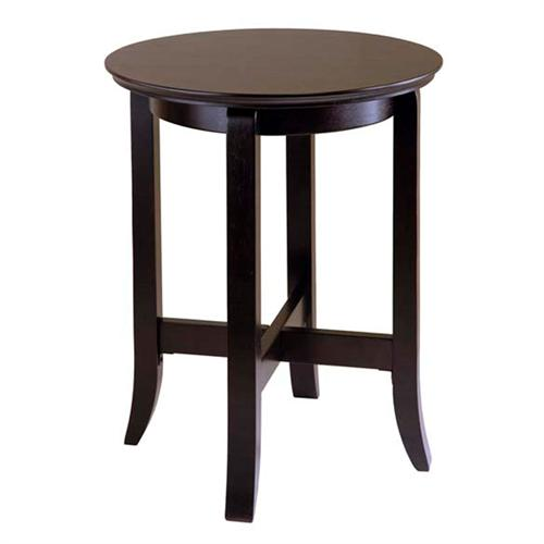 View a large image of the Winsome Wood Toby End Table Dark Espresso 92019 here.