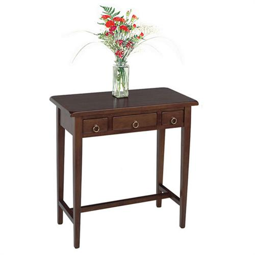 View a larger image of the Winsome Wood Regalia Hall Table (Walnut) 94329.