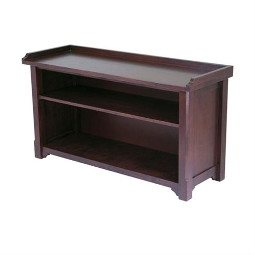 View a large image of the Winsome Wood Milan Storage Bench 94640 here.