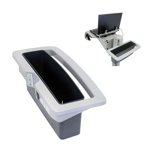 View a large image of the Ergotron Neo-Flex Basket Handle Kit for WorkSpace and WorkFit Mobile Carts 97-488-055 here.