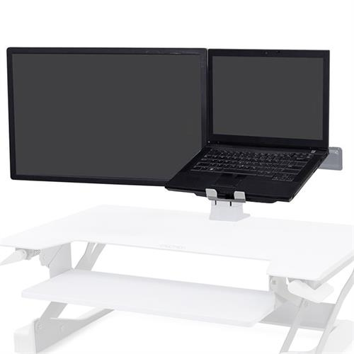 View a large image of the Ergotron WorkFit Monitor Kit (LCD and Laptop, White) 97-933-062.