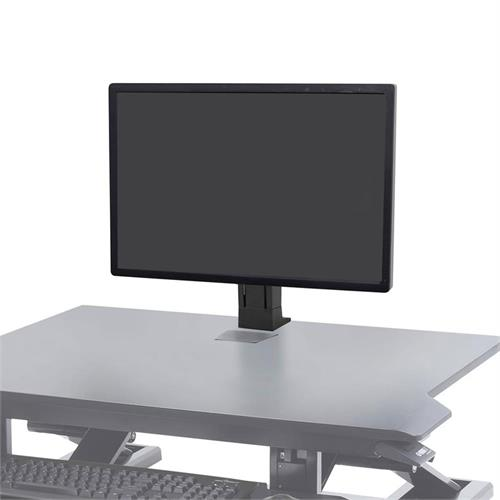 View a large image of the Ergotron WorkFit Monitor Kit (Single, Light, Black) 97-935-085.