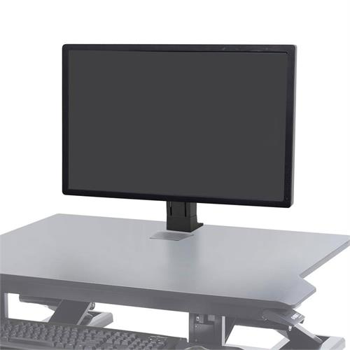 View a large image of the Ergotron WorkFit Monitor Kit (Single, Heavy, Black) 97-936-085.