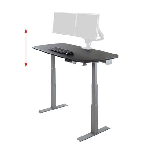 View a large image of the Ergotron Sit-Stand Desk (WorkFit Electric, 58 Inch) 98-354-921.