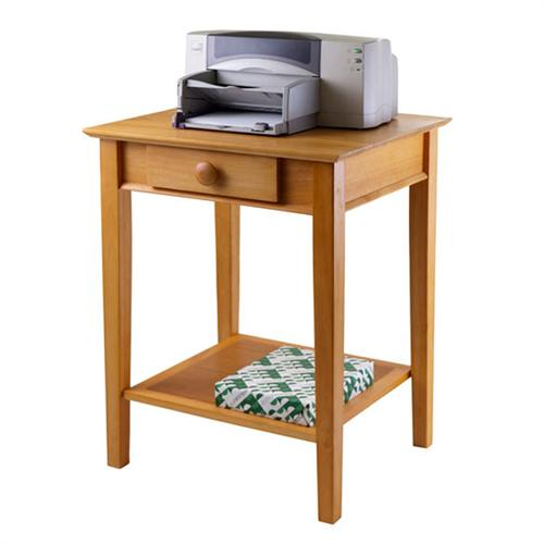 View a large image of the Winsome Wood Studio Printer Stand Honey Pine 99323 here.