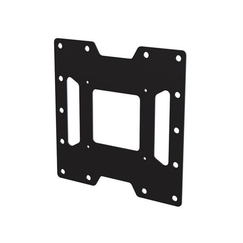 View a large image of the Peerless VESA Adapter Plate for 100x200 or 200x200mm Black ACC450 here.