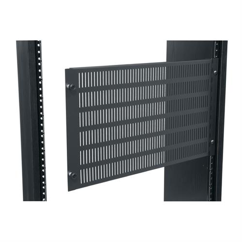 View a large image of the Middle Atlantic Vent Access Panel (6 RU, Slotted, Hinged) APV-6.