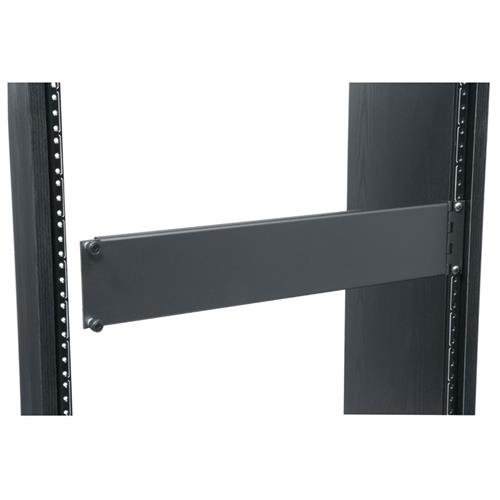 View a large image of the Middle Atlantic Blank Access Panel (2 RU, Aluminum, Hinged) AP-2 here.
