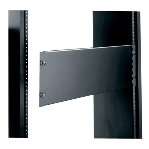 View a large image of the Middle Atlantic Blank Access Panel (4 RU, Aluminum, Hinged) AP-4.