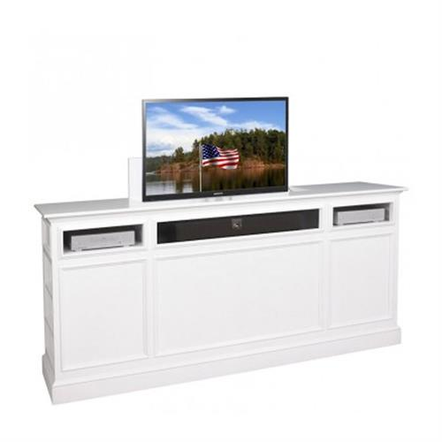View a large image of the TV Lift Cabinet Suite Series Lift for 32 to 42 inch Screens White AT006389WHT here.