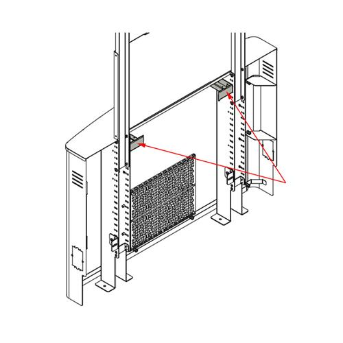 View a larger image of the Chief Flat Panel Floor Support System 2 Rack Unit Accessory, AVA1102.