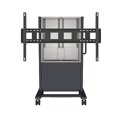 View a larger image of the AVTEQ DynamiQ 650 Height Adjust Cart (Surface Hub 84) AVT-650CARTSH84-BUNDLE here.