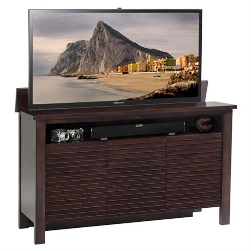 View a larger image of TV Lift Cabinet Addison TV Lift for 36 to 60 inch Screens (Espresso) AT006520.