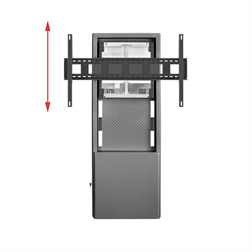 View a larger image of the AVTEQ DynamiQ Height Adjust Wall Stand (Cisco Webex 70) D-WMS-BB-CSB70.