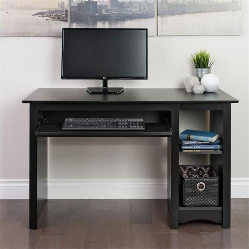 View a larger image of the Prepac Sonoma Collection Computer Desk (Black) BDD-2948.