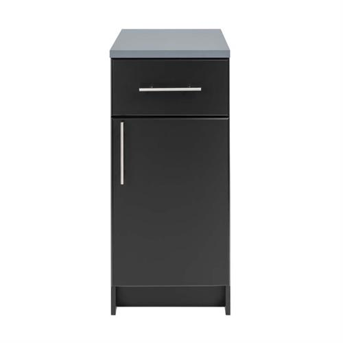 View a larger image of Prepac Elite Collection 16 in Base Cabinet with Drawer (Black) BED-1636.