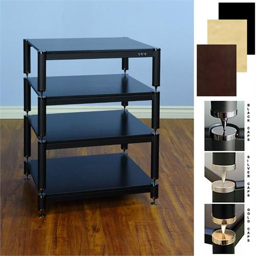View a large image of the VTI BL Series Extended Height Audio Rack Various Finishes BL404-13 here.