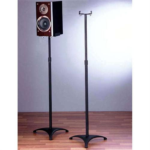View a large image of the VTI BL Series 29-54 inch Adjustable Height Clamp Style Speaker Stands Black BLE201 here.