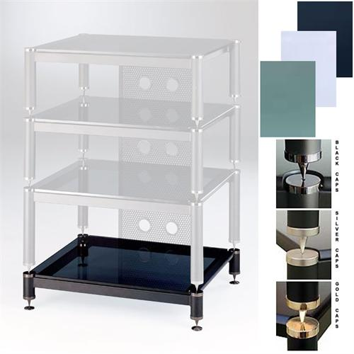 View a large image of the VTI BLG Series Amp Stand Various Finishes BLG404-01 here.